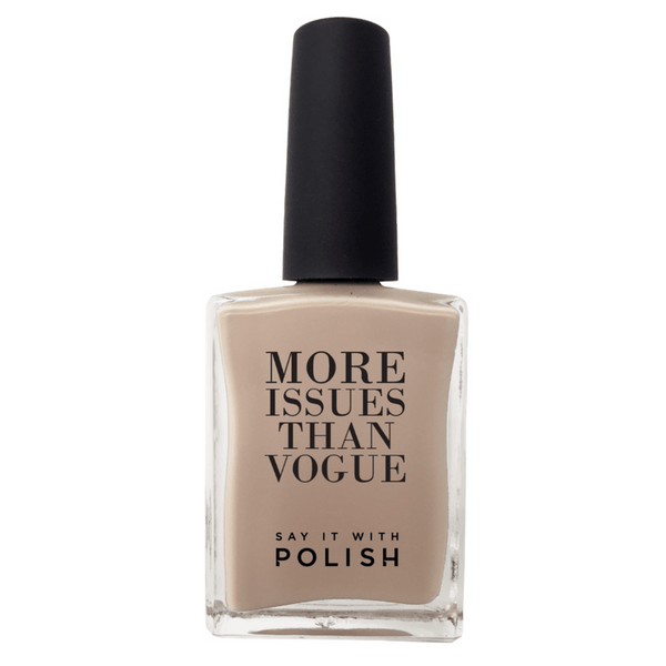 Say It With Polish | Nail Polish - More Issues than Vogue - Mushroom | Shut the Front Door