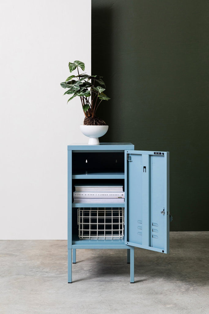 Mustard | Shorty Locker - Ocean Blue | Shut the Front Door