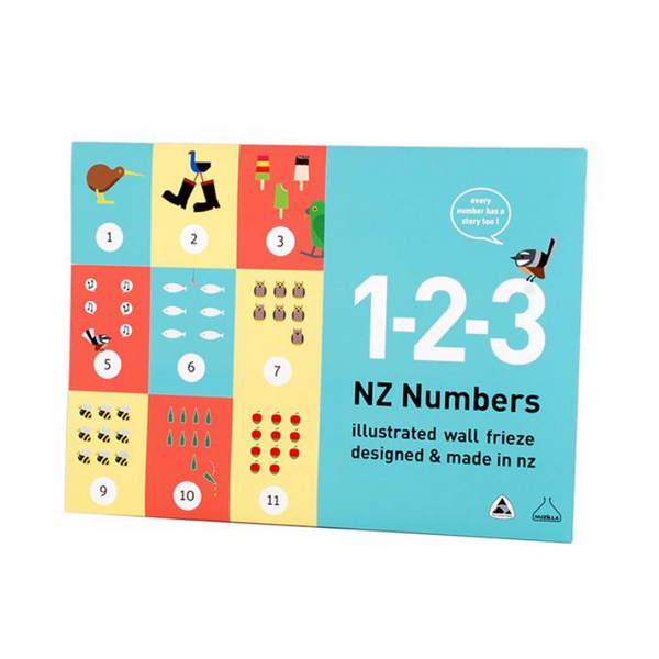 Nuzilla | NZ 123 Numbers Chart | Shut the Front Door