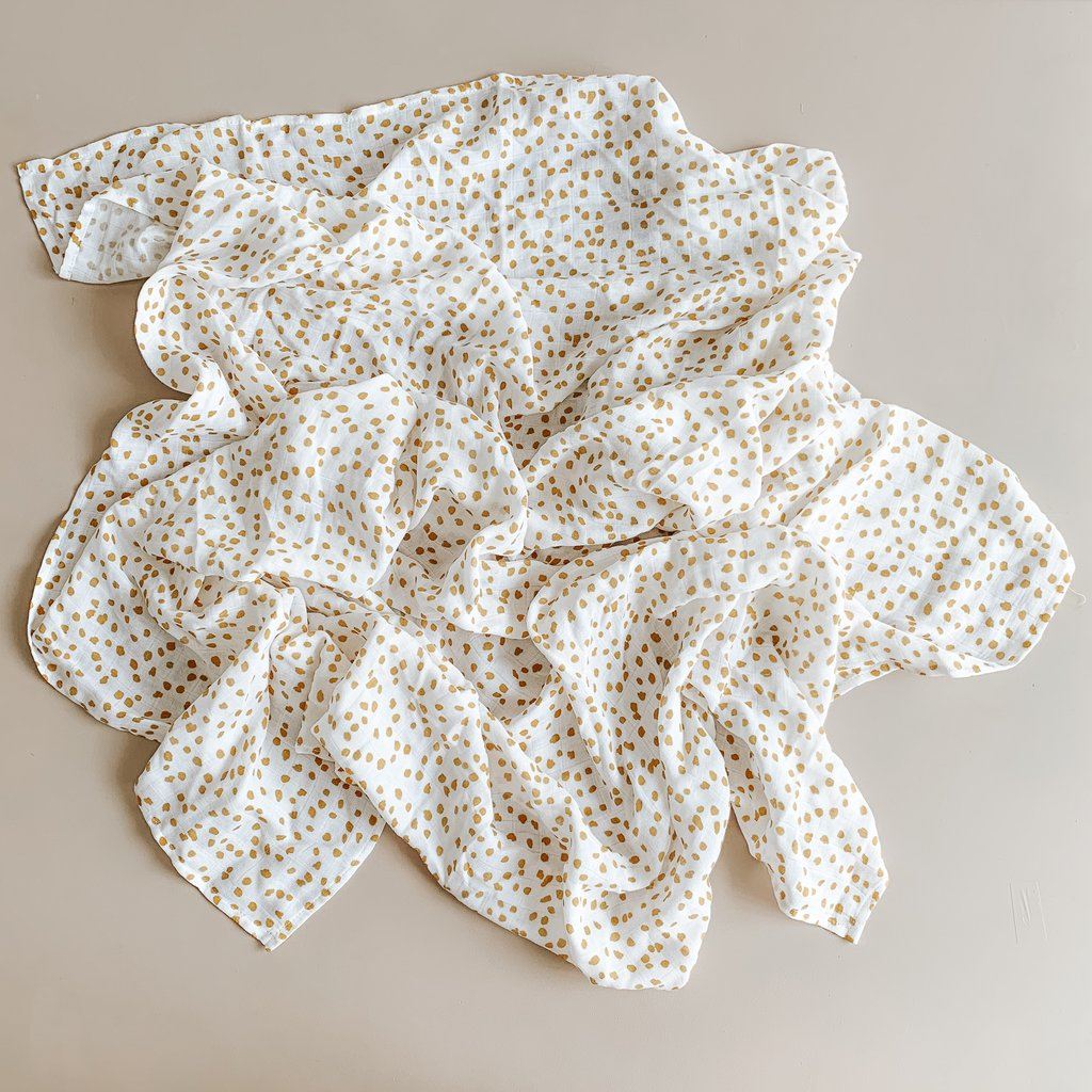 Two Darlings | Bamboo Baby Swaddle - Speckle | Shut the Front Door