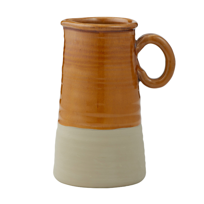 Albi | Poe Pitcher Mustard Sand | Shut the Front Door