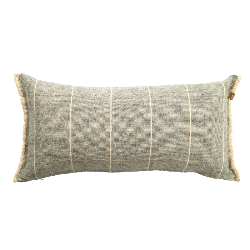 Raine & Humble | Brushed Wild Stripe Cushion - Navy | Shut the Front Door