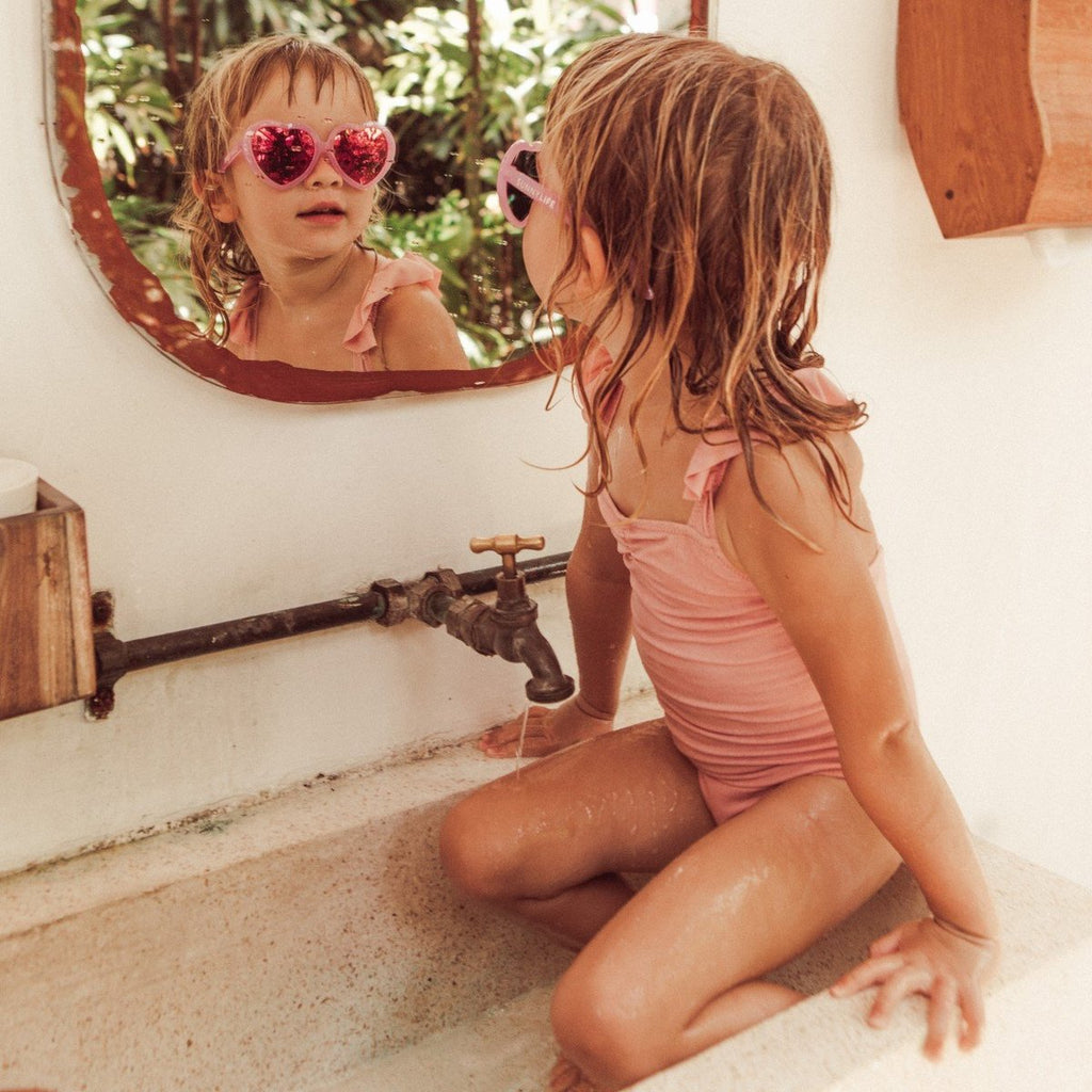Sunnylife | Heart Kids Sunnies | Shut the Front Door