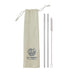 Save Planet A | Stainless Steel Straw Travel Pack | Shut the Front Door