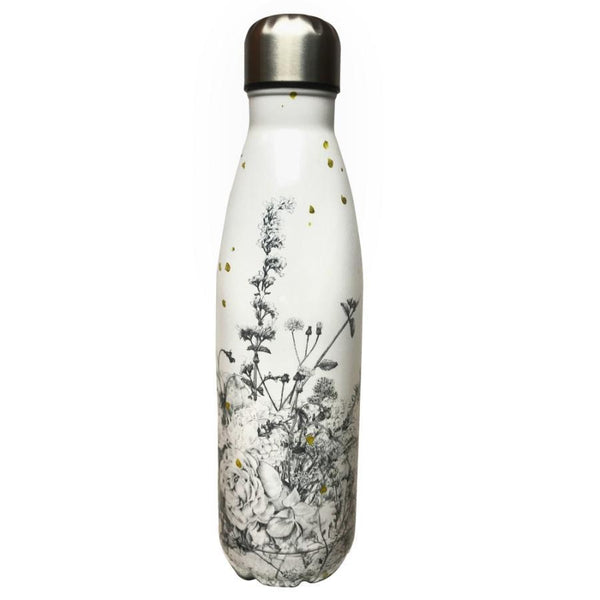 Chunky | Stainless Steel Drink Bottle - Laura Shallcrass Wildflower | Shut the Front Door