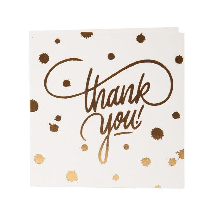 Shut The Front Door | Mini Gift Card Thank You Splatter | Shut the Front Door