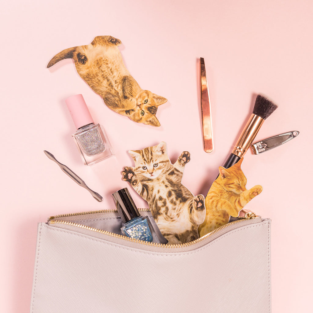 Suck Uk | Purrfect Nails - Tabby Cat Nail File | Shut the Front Door