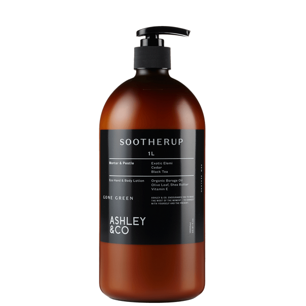 Ashley & Co | Gone Green Soother Up 1ltr | Shut the Front Door