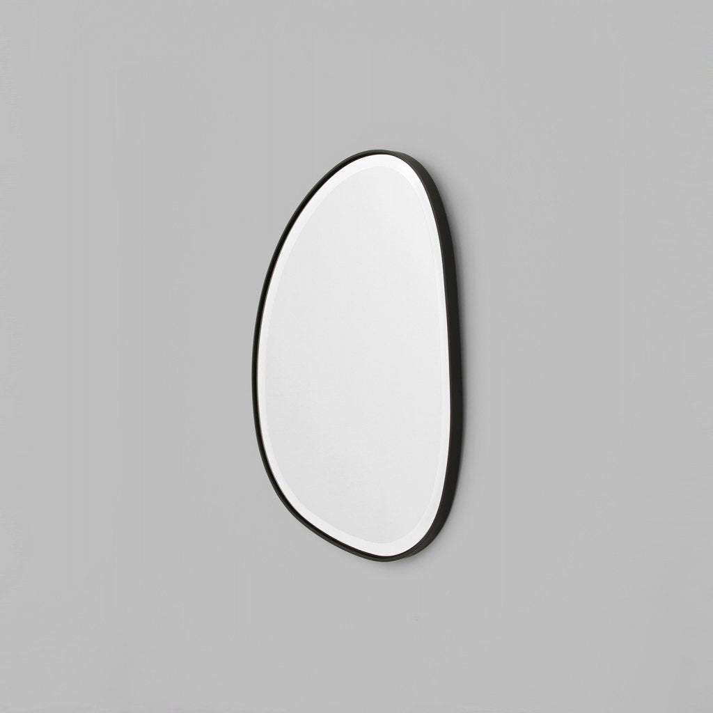Middle of Nowhere | Pebble Mirror - Black 55x70cm | Shut the Front Door