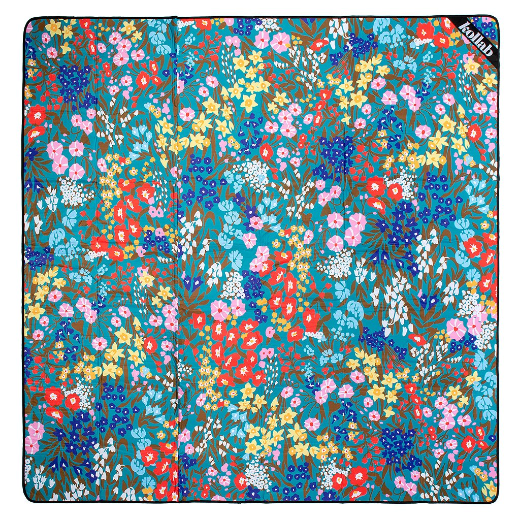 Kollab | Picnic Mat - Spring Garden | Shut the Front Door