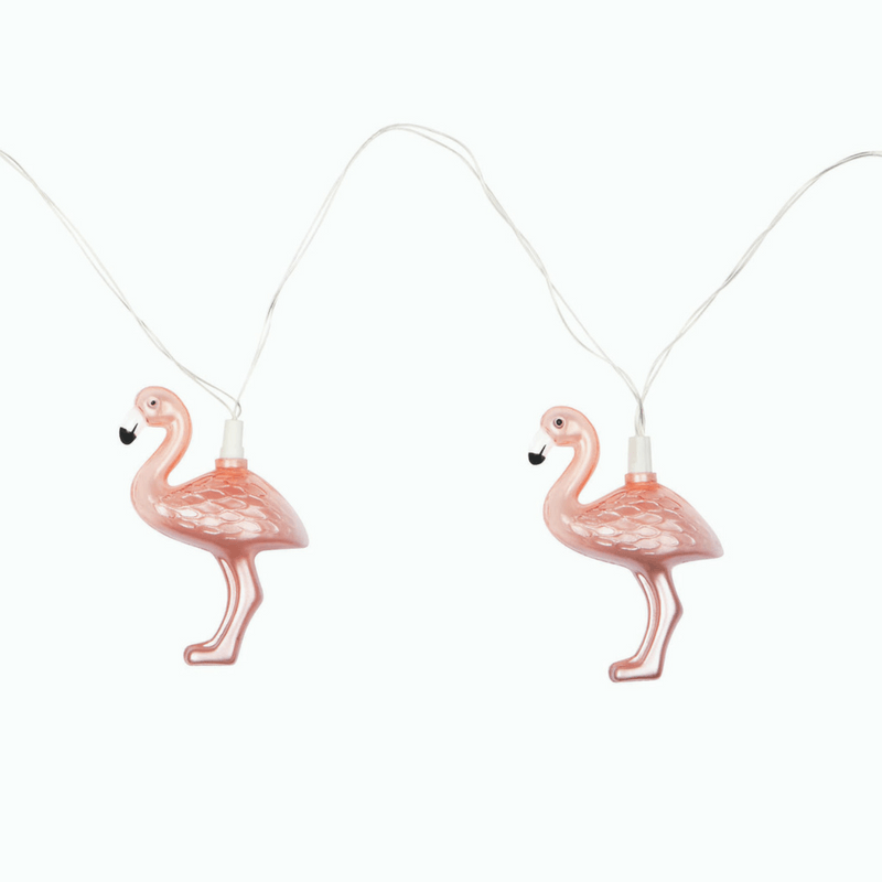 Sunnylife | String Lights Rose Gold Flamingo | Shut the Front Door