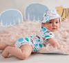 Halcyon Nights | Summer Suit Onesie - Hanging With Friends 3-6 months | Shut the Front Door
