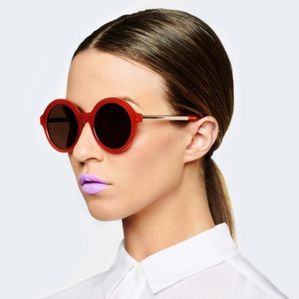Reality Eyewear | Sunglasses - Mind Bomb Ochre | Shut the Front Door