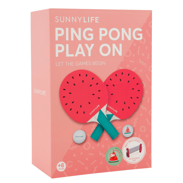 Sunnylife | Ping Pong Play On - Watermelon | Shut the Front Door