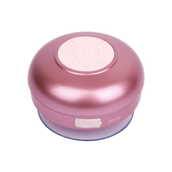 Sunnylife | Electric Bloom Shower Speaker - Rose Gold | Shut the Front Door