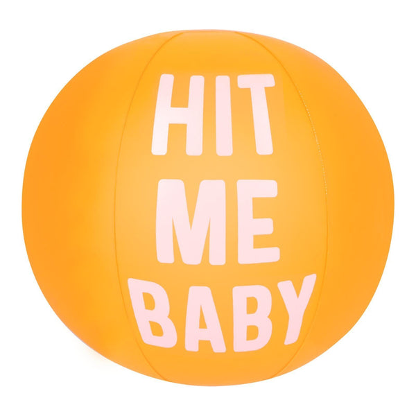 Sunnylife | Inflatable Beach Ball - Hit Me Baby | Shut the Front Door