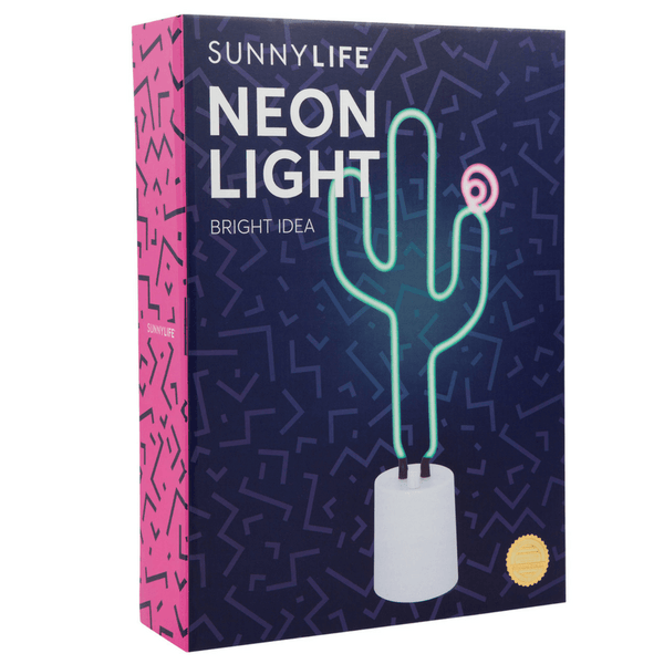 Sunnylife | Neon Light Cactus Large SS18 | Shut the Front Door