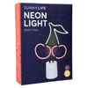 Sunnylife | Large Cherry Neon Light | Shut the Front Door