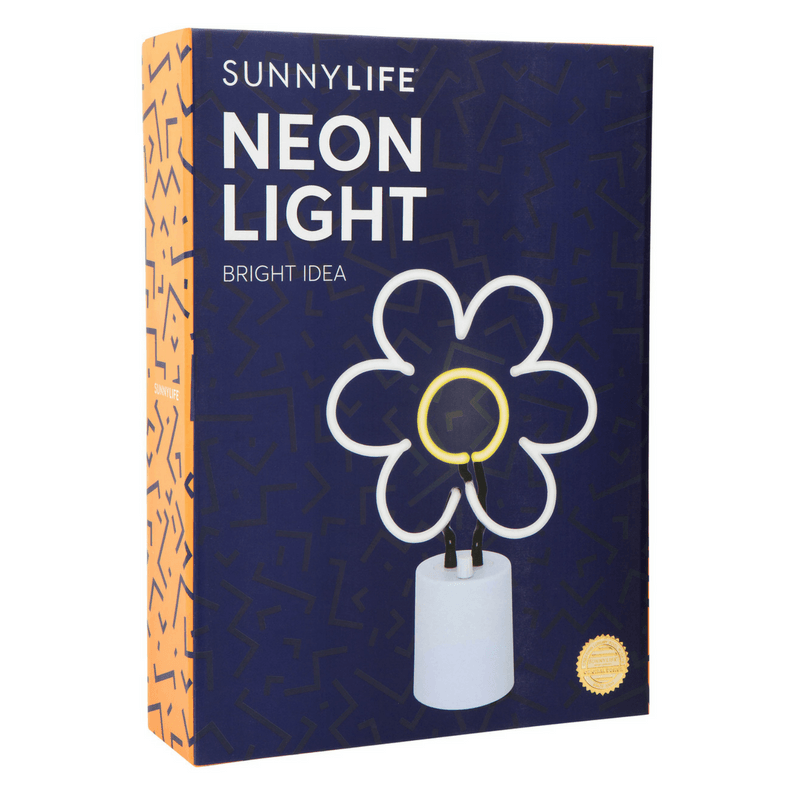 Sunnylife | Neon Light Daisy Large | Shut the Front Door