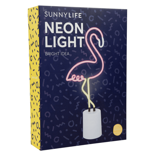 Sunnylife | Neon Light Flamingo Large SS18 | Shut the Front Door