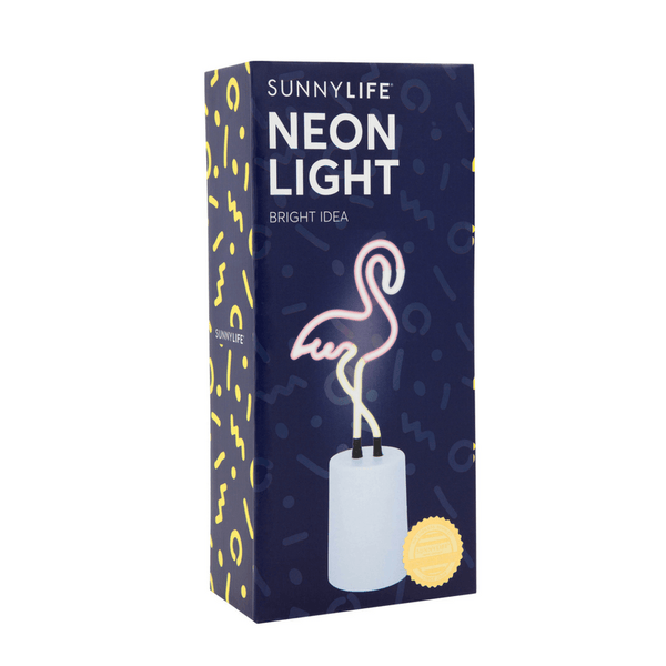 Sunnylife | Neon Light Flamingo Small | Shut the Front Door