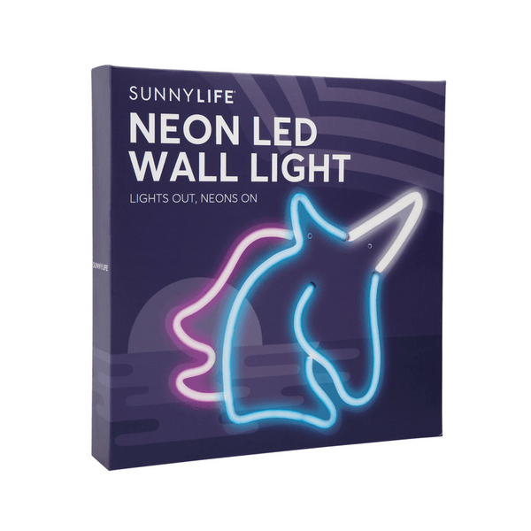 Sunnylife | Neon Wall Light LED - Unicorn Small | Shut the Front Door