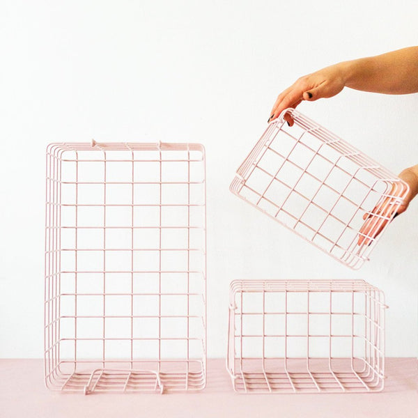 Basket Large - Blush