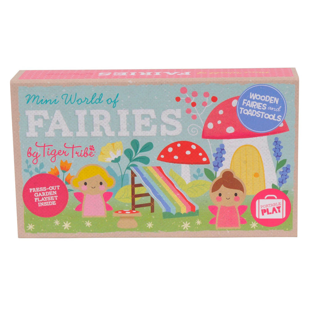 Tiger Tribe | Mini World Fairies Playset | Shut the Front Door