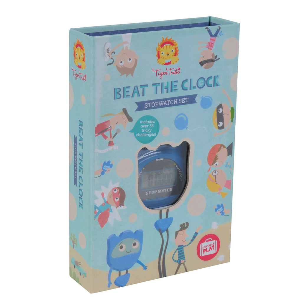 Tiger Tribe | Beat the Clock Stopwatch Activity Set | Shut the Front Door