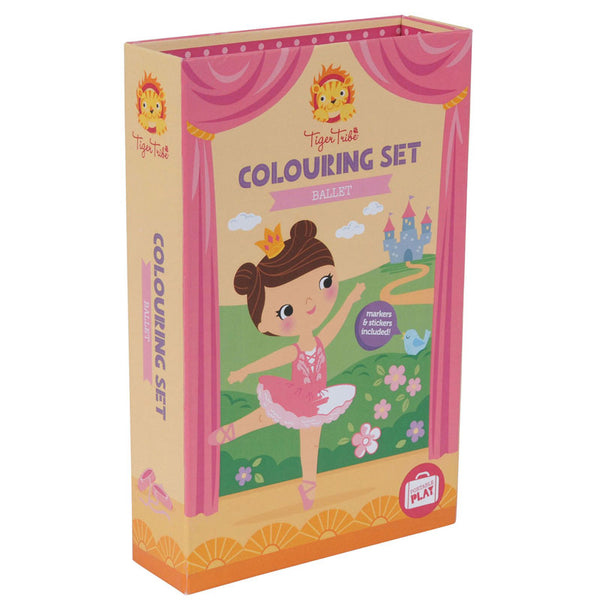 Tiger Tribe | Colouring Set Ballet | Shut the Front Door