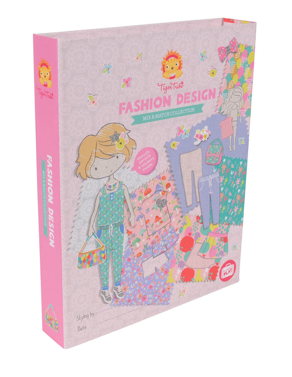 Tiger Tribe | Fashion Design Mix & Match Activity Set | Shut the Front Door
