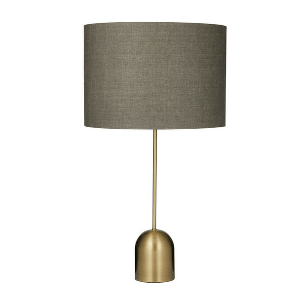 Not specified | Saxon Brass Table Lamp | Shut the Front Door