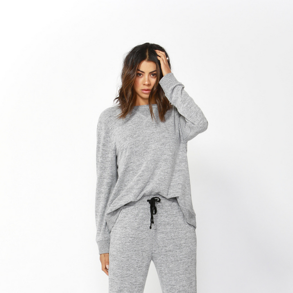 Ryder Cosy Sweater - Storm