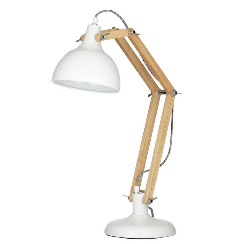 Amalfi | Sleuth Table Lamp Nat/Wh | Shut the Front Door