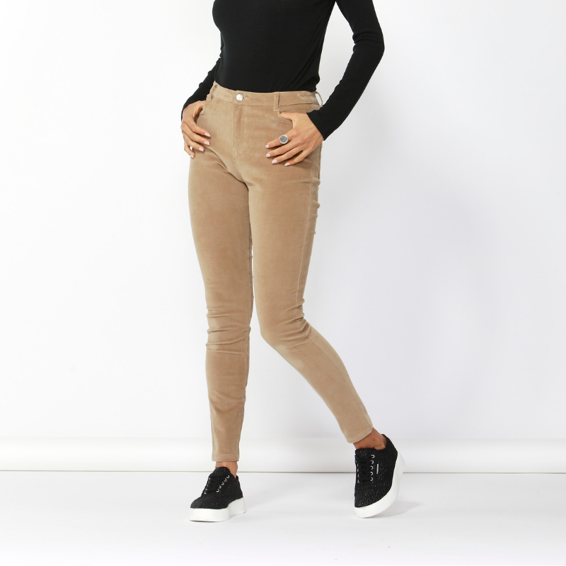 Betty Basics | Logan Corduroy Pant - Tan | Shut the Front Door