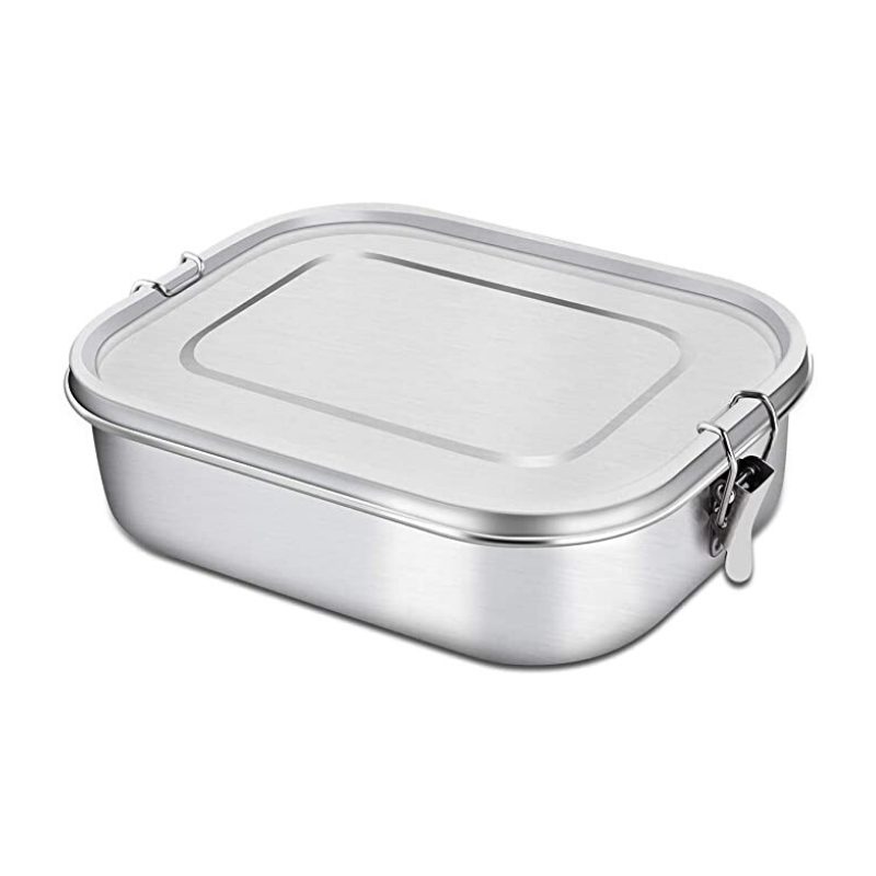 Green Table | Stainless Steel Lunch Box - Medium 1.2 ltr | Shut the Front Door