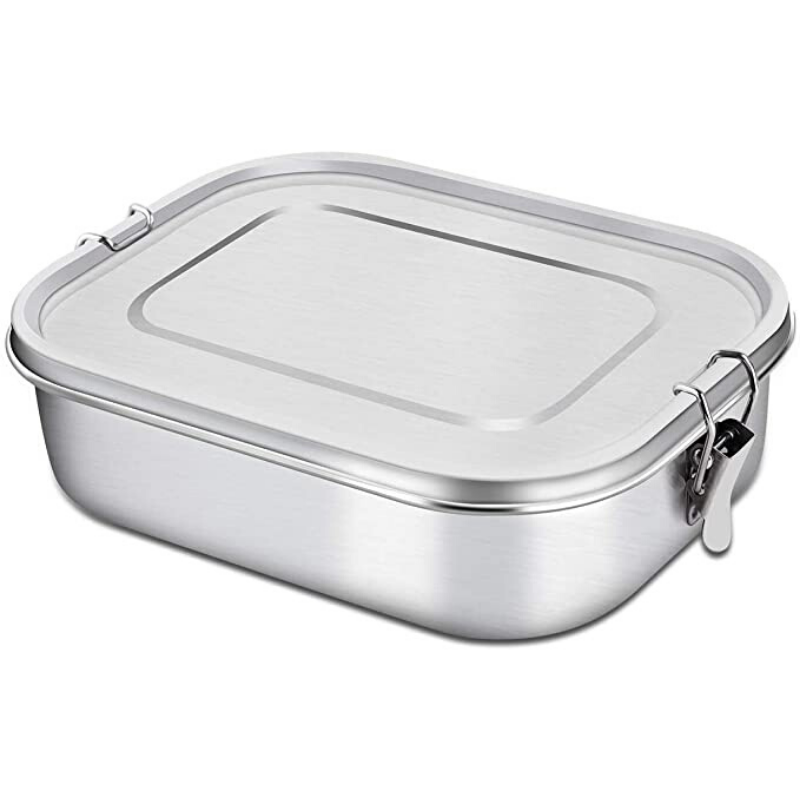 Green Table | Stainless Steel Lunch Box - Large 1.4 ltr | Shut the Front Door