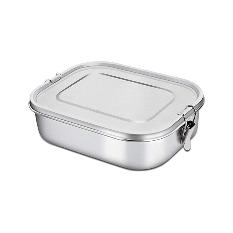 Green Table | Stainless Steel Lunch Box - Small 800ml | Shut the Front Door