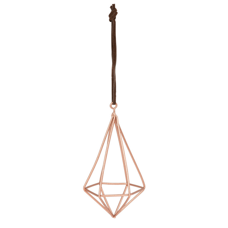 General Eclectic | Diamond Wire Tall Copper Decoration | Shut the Front Door