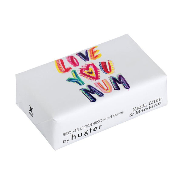 Huxter | Love You Mum Soap - Basil Lime & Mandarin | Shut the Front Door