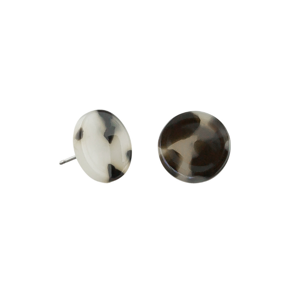 Tiger Tree | Earrings - Monochrome Studs | Shut the Front Door
