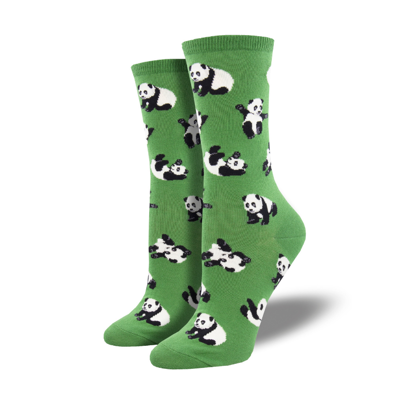 Socksmith | Women's Cuddle Puddle Socks - Green | Shut the Front Door
