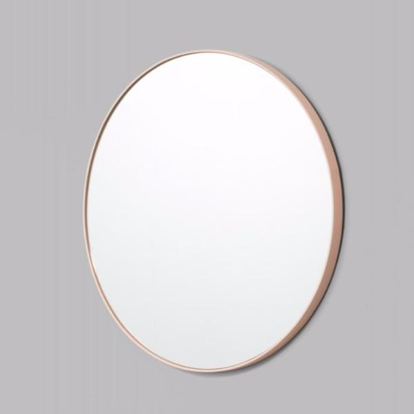 Middle of Nowhere | Bjorn Round Mirror - Powder 80cm | Shut the Front Door