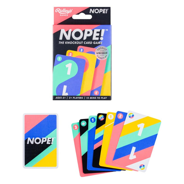 Ridleys | Nope Card Game | Shut the Front Door