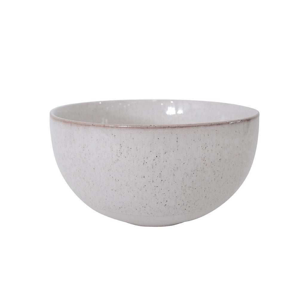 General Eclectic | Aki Bowl White Smoke Large | Shut the Front Door