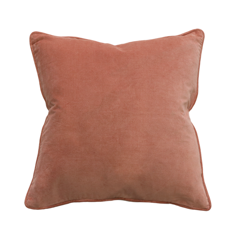 Mulberi | Montpellier 53x53cm Cushion -  Muted Coral | Shut the Front Door