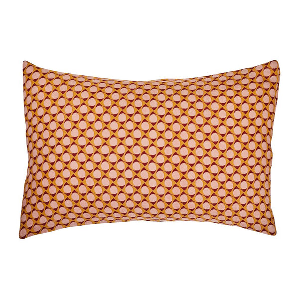 SAGE & CLARE | Palo Linen Pillowcase Set - Terracotta | Shut the Front Door