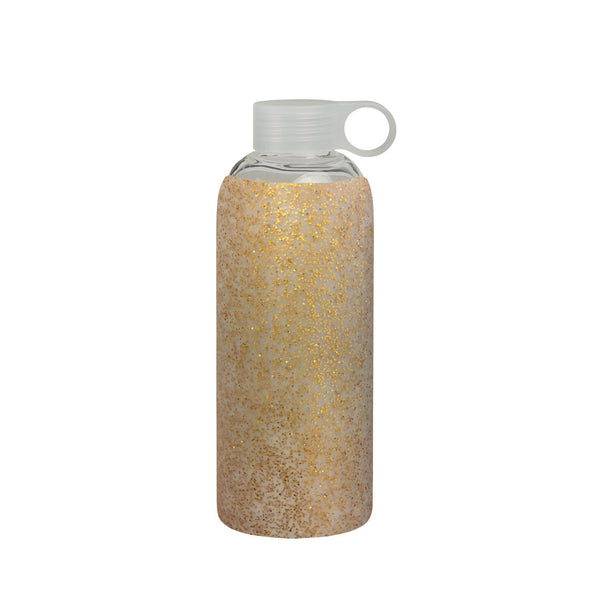 General Eclectic | Gold Glitter Drink Bottle 750ml *PRE ORDER* | Shut the Front Door