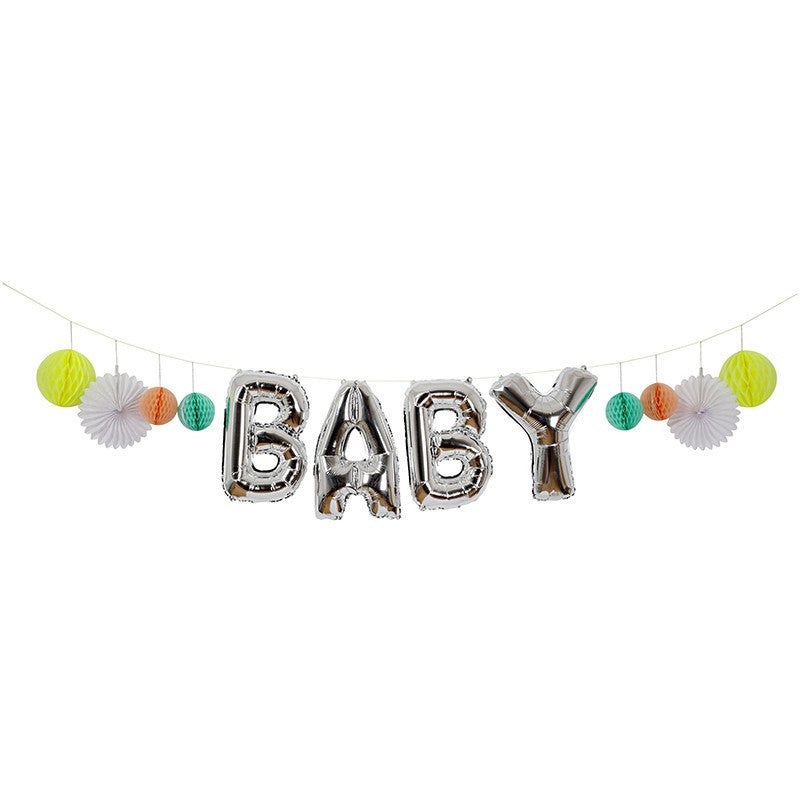 Meri Meri | Balloon Garland Baby | Shut the Front Door