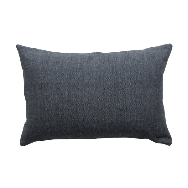 Milk & Sugar | Cushion Woven CHARCOAL | Shut the Front Door